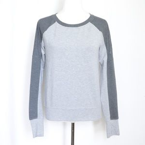 Adidas Women's Gray Crewneck Pullover Sweater  S